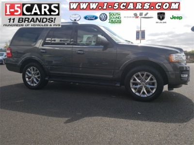 2017 Ford Expedition Limited (gray)