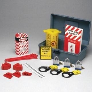 Brady High Performance Electrical Lockout/Tagout Kit plus extra 2 kits