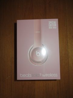 BRAND-NEW! Dr. Dre Beats Solo 2 Wireless Limited Edition Rose Gold