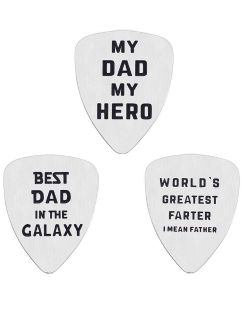 Guitar Pick Gift for Dad