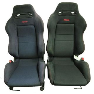 Purchase JDM HONDA INTEGRA PAIR OF BLACK RECARO FRONT SEATS DC2 TYPE-R WITH RAILINGS motorcycle in Houston, Texas, US, for US $1,150.00