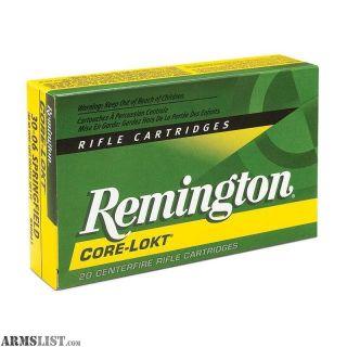 For Sale: 140 Rounds Remington Core-Lokt 300 Win Mag 180 Gr