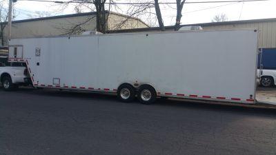 2008 aluminum trailer