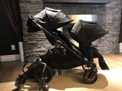 Baby Jogger City Select Double Stroller with extras!