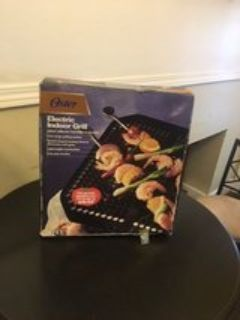 indoor oster electric grill