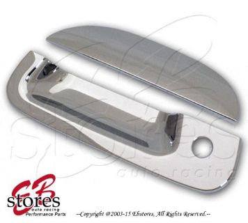 Sell Chrome Plated Tailgate Handle Cover Ford F250-F550 Super Duty 04-08 w/1 Keyhole motorcycle in La Puente, California, United States