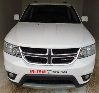 2015 Dodge Journey SXT (White)