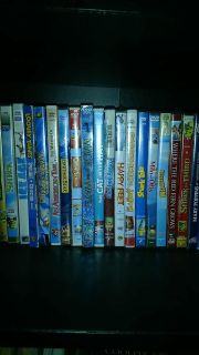 Selling Kids DVDs for .75 cents each