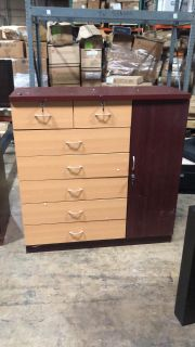 7 drawer dresser with keys