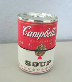 Vintage - CAMPBELL'S SOUP CAN - 60 Minute - Twist TIMER