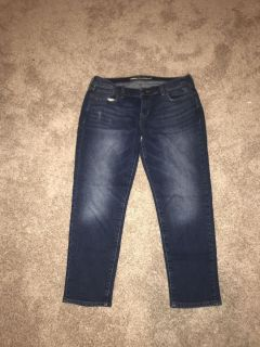 Women s old navy capris size 8 excellent condition