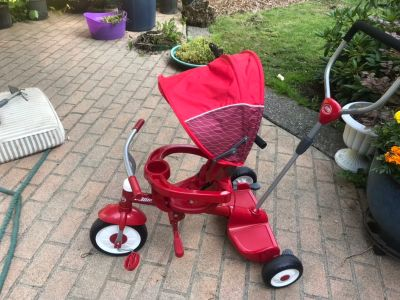 Radio flyer stages tricycle