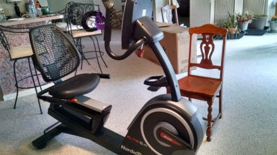 Nordic track Elite exercise bike.