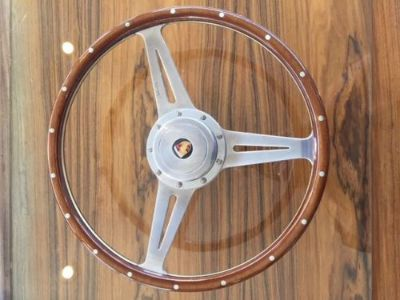 "Buy 15"" Moto-Lita Steering wheel w/Porsche Hub motorcycle in Springfield, Ohio, United States, for US $200.00"