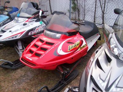2002 Polaris Indy 340 Deluxe Trail/Touring Snowmobiles Wisconsin Rapids, WI