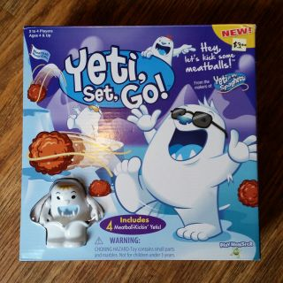 Yeti, set, Go!! Game LIKE NEW!!!