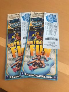 2 Raging Waves tickets