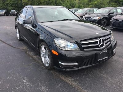 2014 Mercedes-Benz C-Class C300 4MATIC Luxury (Black)