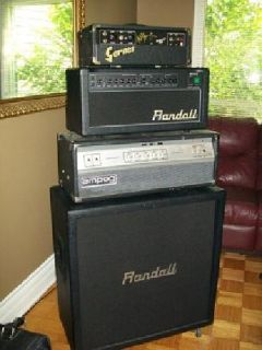 $850 OBO Randall 50 Watt Head and Matching Cab