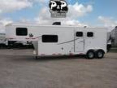 2019 Lakota Trailers AC29 2 Horse 9' Short wall 2 horses