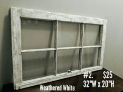 Wood Window for picture frame