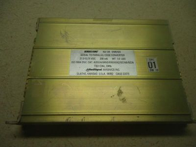 Find Bendix/King KA-120 Serial to Parallel Code Converter 066-1089-00 - Used Avionics motorcycle in Sugar Grove, Illinois, US, for US $295.00