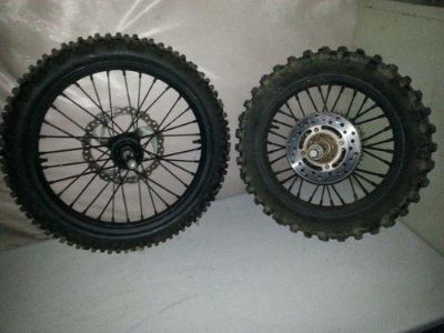 Purchase 2005 Yamaha YZ85 YZ 85 Wheels Rims Tires Front Rear wheelset motorcycle in Elverta, California, US, for US $119.00