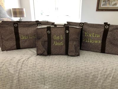 thirty-one Set of 3 totes