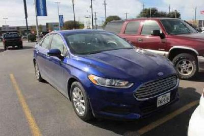 Used 2016 Ford Fusion 4dr Sdn FWD