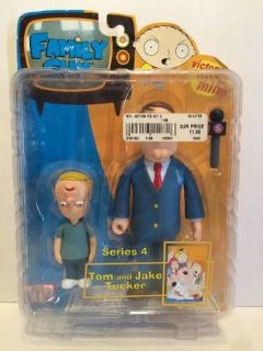Family Guy Series 4 2005 Tom and Jake Action Figure