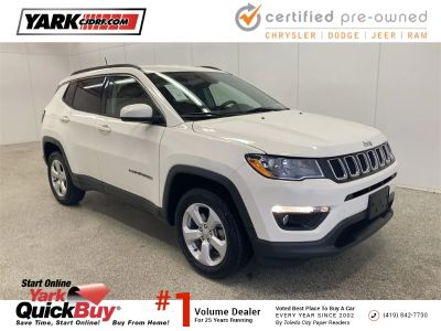 2018 Jeep Compass Latitude (White Clearcoat)