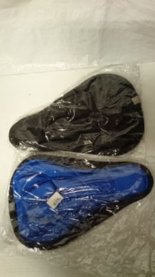 2 New gel cover for bike seat