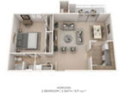 Cedar Gardens and Towers Apartments & Townhomes - 1 BR One BA- Towers