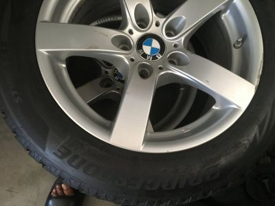 BMW Rims and Tires 225/55R17