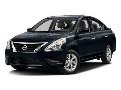 2016 Nissan Versa 1.6 S (White)