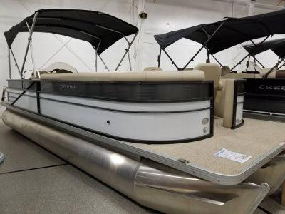 2018 Crest Marine CREST II 250 SLS Pontoons Boats Ponderay, ID