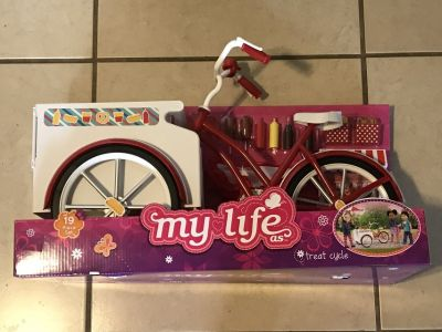 18 Doll Size Hot Dog Cart w Accessories Brand New in Box