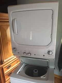 GE Gas Washer/Dryer Combo