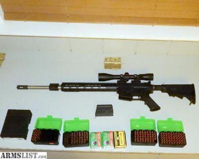 For Sale: AR 15, 25-45 caliber