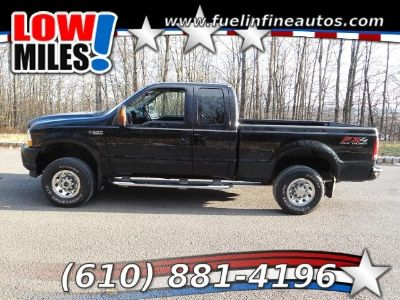 2003 Ford F-250 SD XLT SuperCab 4WD 5-Speed Automatic
