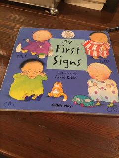 Baby Signing - My First Signs Board Book