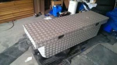 Tool Box diamond plate aluminum full size tool box