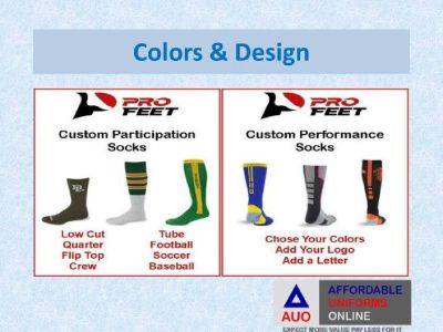 Socks for Sports Team with Custom Made at Affordable Price