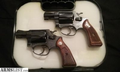 For Sale/Trade: Pair of s&w CHIEFS special 38spl