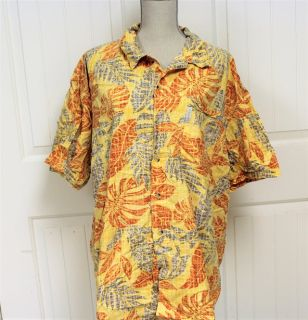 Columbia Men's 2XL XXL Fishing Short Sleeve Shirt Button Up Sporting Wear Active