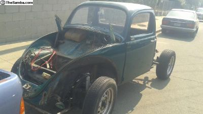 1964 bug truck project