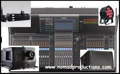 Get The Rental Audio Equipment In Dallas - Nomad Productions