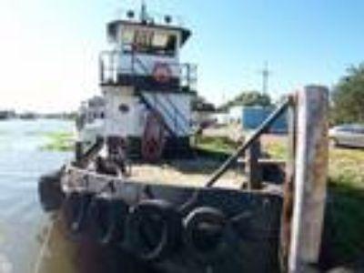 1981 Steel Tug 55 Tug Towing Vessel LC