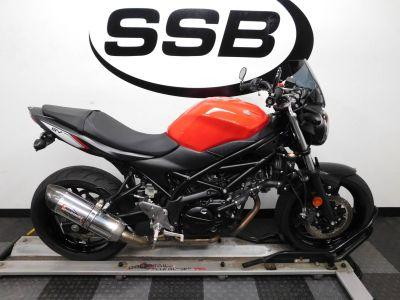 2017 Suzuki SV650 ABS Standard/Naked Motorcycles Eden Prairie, MN