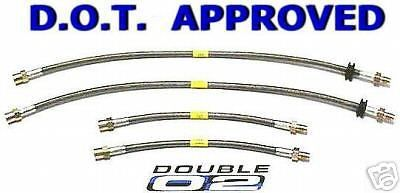 Sell BMW Brake LINES Hoses M Coupe M Roadster STAINLESS STEEL New DOT Approved USA motorcycle in Hayward, California, United States, for US $86.95